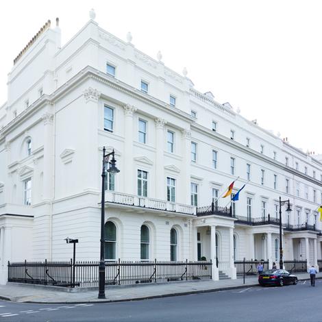 refurbishment of german embassy in london structuremode. Black Bedroom Furniture Sets. Home Design Ideas